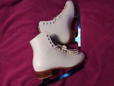 Riedeii Red Wing Minn. Ice Skates Size W5 Excellent Condition