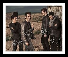 STEREOPHONICS AUTOGRAPHED SIGNED & FRAMED PP POSTER PHOTO