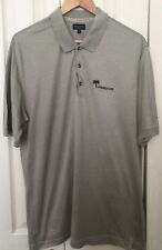 Burberry Men's Golf 100% Cotton Short Sleeve Polo Shirt Size L