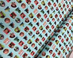 Disney Toy story 100% cotton fabric various designs
