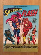 Superman contre Flash - Sagédition - 1979 - NEUF