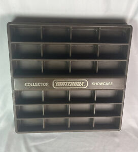 Vintage Matchbox Collector Showcase 1978 Brown And Gold Display Lesney