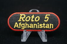 Canadian Forces Military Police MP Roto 5 Afghanistan Patch