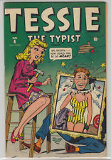 TESSIE THE TYPIST COMICS # 4