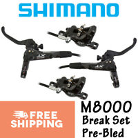 SHIMANO Deore XT BL-BR-M8000 M8100 Hydraulic Brake Set Levers Pair Front/Rear