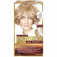 L'Oreal Excellence Age Perfect, 8G Medium Soft Golden Blonde