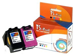 Für HP 652XL BK 3-farbig Tinten-Patronen Set  Deskjet Ink Advantage 3775 3785
