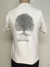 VTG ~ beTreeaware SUGAR MAPLE GRAPHIC T-SHIRT ~ Natural Color ~ Soft & Thin ~S/M