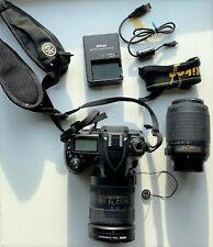 Nikon D90 Digital SLR Camera Kit w/2 Nikon Lenses: 18-200mm & 55-200mm