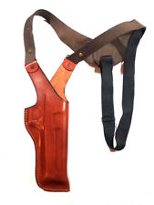 DESERT EAGLE FITS ALL CALIBERS WITH 6''  VERTICAL SHOULDER LEATHER HOLSTER