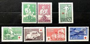 Finland - 1941, 1944, 1946 - MNH set