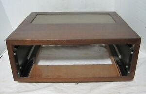 McIntosh Model L-52 Cabinet==Original Walnut!