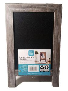 Pen + Gear Chalk & Cork Double Sided Easel Home School Chalkboard - UNOPENED New