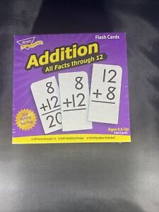 Flash Cards Addition: All Facts through 12 - 169 Cards Factory Sealed NEW Teach