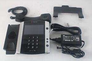 Polycom 2200-48600-019 VVX 601 VolP Business Media Desktop Phone System