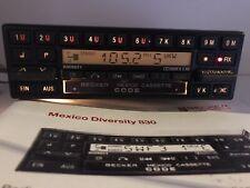 Oldtimer AUTORADIO BECKER MEXICO be 0830 MERCEDES SL CLASSE S Autoradio