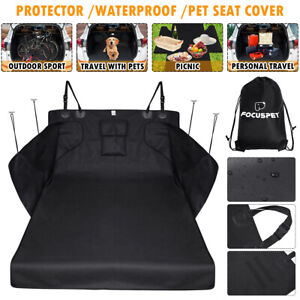 600D Car Seat Cover Boot Liners Waterproof Pet Dog SUV Cargo Rear Protector Mat