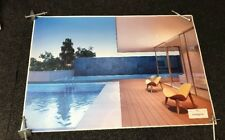 Large Print Poster/ Wall Art Of Luxury Outer Swimming Pool ( Peel Stick On)