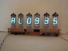 Monjibox Nixie Alarm Clock VFD IV11 tubes Assembled Kit