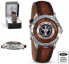 Watch Ford Mustang Men Jewelry Commemorative Gift Engraving Stainless Steel Case