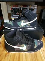 Nike SB Dunk High Camo Size 14 BQ6826-001
