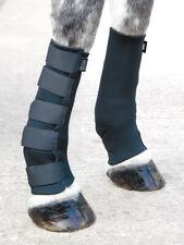 Shires Neoprene Turnout Mud Socks Black Full
