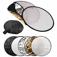 """80cm Photogenic Photography Studio 5in1 Light Collapsible Reflector KIT 32"""" Disc"""