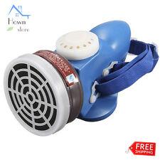Respirator Paint Half Mask Gas Dust Acid Organic Vapor Single Tank Filter Reuse