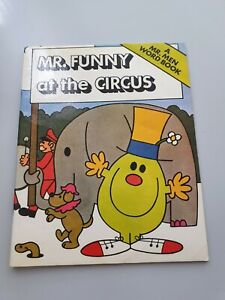 Mr. Funny at the Circus (A Mr. Men Word Book), Hargreaves, Roger, Used; Good