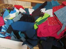 Stoffreste, Fleece, Cord, Jersey uni, Sweatshirt