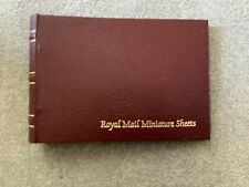 Royal Mail Miniature Sheet Album &  20 inserts