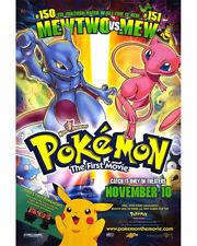 Pokemon The Movie 35mm Film Cell strip very Rare var_e