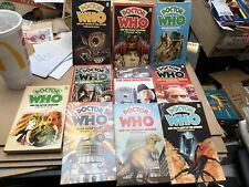1980S Dr. Who Paperback Book Collection Lot 1 Target Publishing 10 pc nice shape