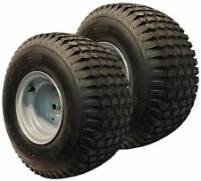 "2) 20x8.00-8 Mower Garden Tractor TIRE RIM WHEEL Assembly Kenda K358 3/4"" ID P28"