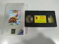 Pedro y el Lobo Walt Disney Mini Clasicos - VHS Cinta Español - 2T