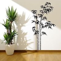 BAMBOO TREE GRASS WILD JUNGLE WALL STICKER DECAL STENCIL VINYL TRANSFER WSD665