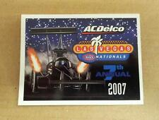 NHRA 7TH ANNUAL 2007 AC/DELCO LAS VEGAS NATIONALS EVENT DECAL