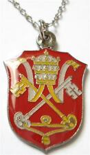 HOLY SEE Vatican Pope Catholic Seal Necklace Pendant