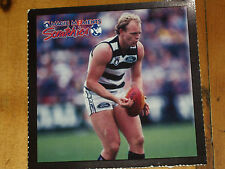GEELONG BILLY BROWNLESS MAGIC MOMENTS TATTS AFL CARD - 1997  EXC