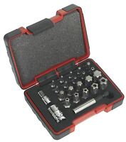 Tool Hub 9192 Torx Plus & Security Bit Set 23 Pc Hex Socket Kit Garage Equipment