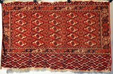 ANTIQUE TEKKE TURKMEN CHUVAL - BAGFACE VERY FINE WEAVE n3