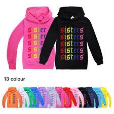 James Charles Inspired Sisters Kids Hoodie Hooded Sweatshirt Multicoloured Print