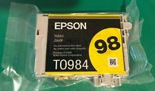 Epson 98 printer ink catridge-yellow-NEW