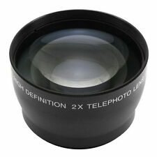 62mm 2.0X 2X Magnification Tele Telephoto Lens fr Canon Nikon Pentax DSLR Camera