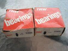 NEW NOS TRW MRC DOUBLE ROW BALL BEARING 5306
