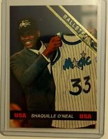 Rare! Shaquille O'Neal 1992 TEAM USA Ballstreet, Rookie, RC, HOF, Sharp Card!