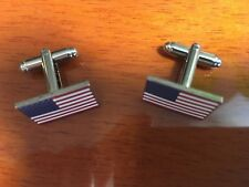 american flag cuff links flag cuff links American flag cuff links in plastic box