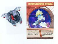Bakugan Masquerade Darkus Alpha Hydranoid 340g very collectable + Hologram Card