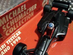 1/43 Schumacher 1998 Ferrari F300 TEST Car - BLACK Minichamps🏁🏎