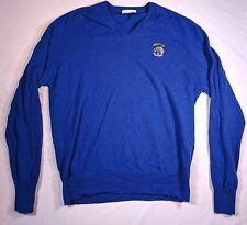 Buckingham Johnnie Walker Ryder Cup 1993 The Belfry Wool Sweater Blue Size XL